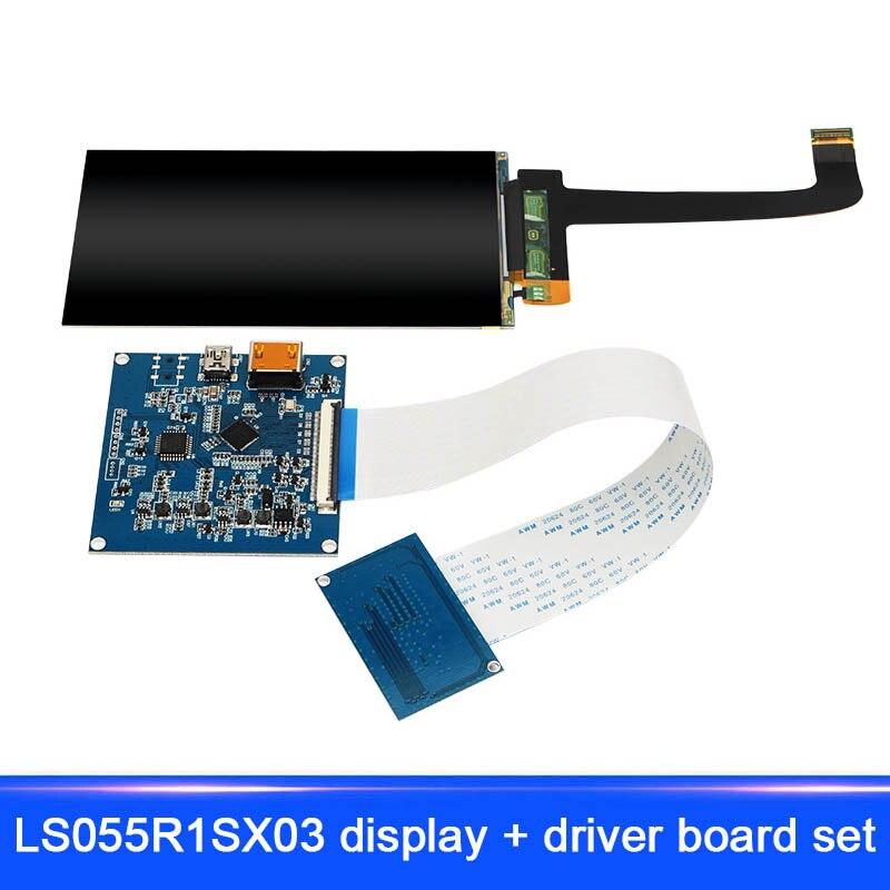 все цены на New 3D Printer Accessories LS055R1SX03 Display Driver Board Kit 5.5 Inch HDMI to MIPI EM88 онлайн