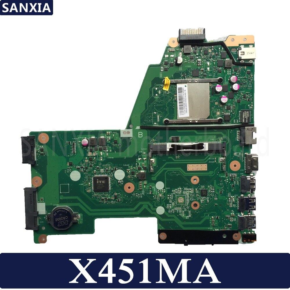 KEFU X451MA Laptop motherboard for ASUS X451MA X451M F451M X451 Test original mainboard цена