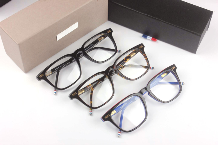 New York lunettes TB402 Prescription lunettes cadres hommes mode lunettes de lecture ordinateur optique cadre avec boîte d'origine