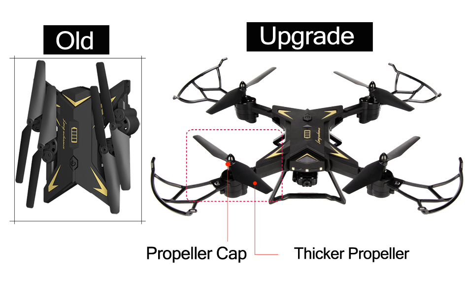 18 INKPOT KY601S Foldable RC Drone Quadcopter With 1080P HD Camera Drone Professional 1800mAH Battery Selfie Folding Dron 16