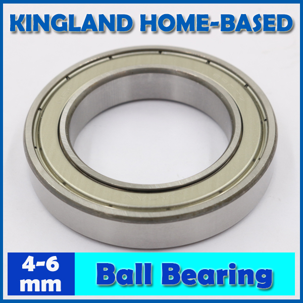 Chrome Steel Deep Groove Ball Bearing MR74 MR84 684 694 604 624 634 MR85 695 605 625 635 686 696 606 626 636 MR106 <font><b>MR126ZZ</b></font> image