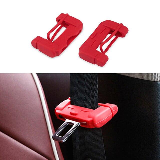 Cubierta protectora de la hebilla del cinturón de seguridad 2 piezas para Renault Megane 3 2 accesorios interiores del automóvil escénicos del Clio CAPTURE