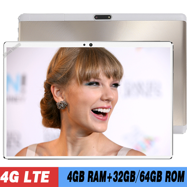Free Shipping Sales Hot 10 inch Octa Core 3G/4G Tablet pc 4GB RAM 64GB ROM 1280*800 Dual Cameras Android 8.0 Tablets 10.1