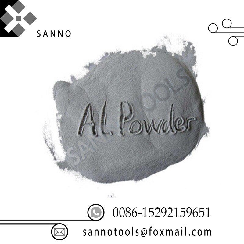 Alta Pureza 99.99% puro polvo de aluminio para Metal no tóxico pintura de recubrimiento y fuegos artificiales envío gratis