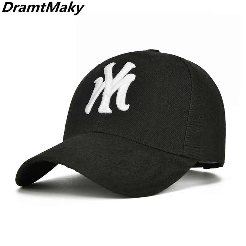 Moda marca York NY gorra de béisbol carta bordado Hip Hop ajustable  sombreros para hombres mujeres fc0eebbabaa
