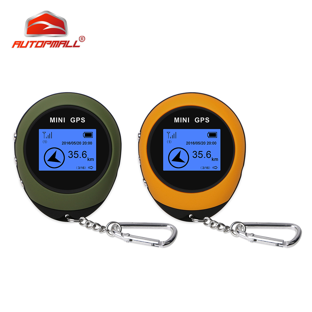 Handheld GPS Compass Mini GPS Navigation USB Rechargeable Compass Real Time Keychain PG03 GPRS For Outdoor Sport Travel Hiking