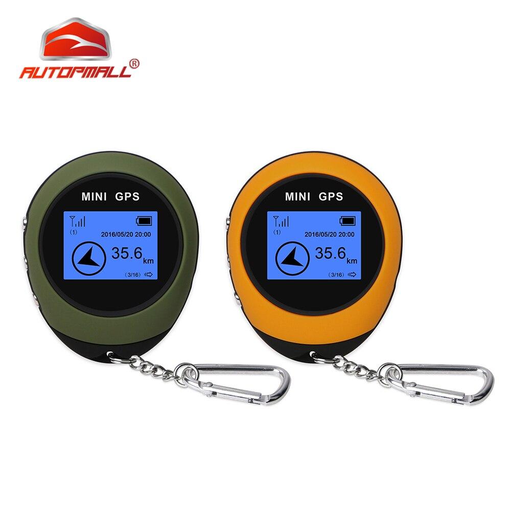 Handheld mini gps navegação mini gps tempo real chaveiro pg03 gprs usb recarregável bússola para esporte ao ar livre viagem caminhadas
