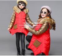 2017 Mother and Daughter Matching Jacket Outfits Girls Family Clothing Winter Coat Girls Long Sleeve Thicken Outwear Clothing