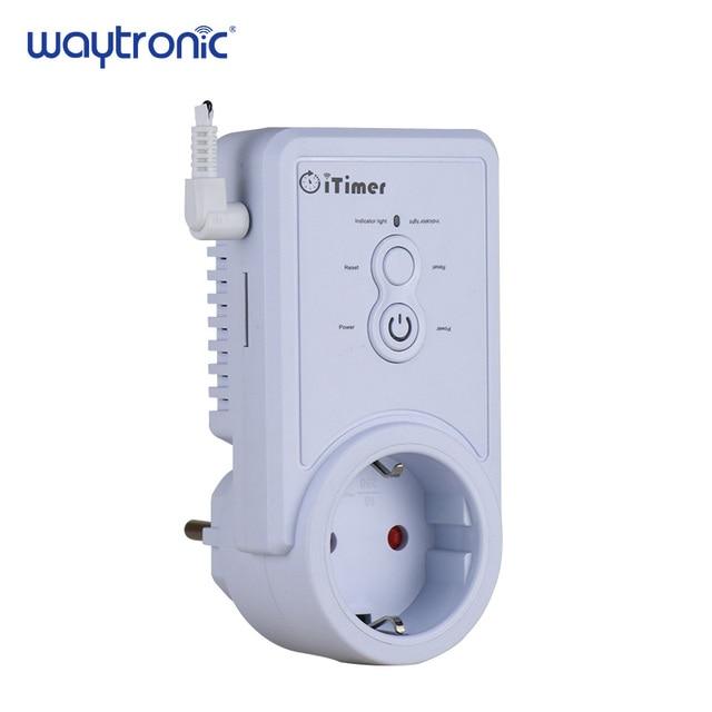GSM Смарт Мощность розетка сотового телефона Английский Русский SMS дистанционного Управление синхронизации Переключатель Регулятор температуры с Сенсор