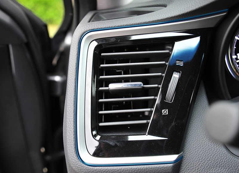 5 M Mobil Interior Relief Bergambar Trim Strip Stiker Konsol Tengah Mobil Dekorasi Pintu Merek Mobil Mobil Styling 3D Internal aksesoris