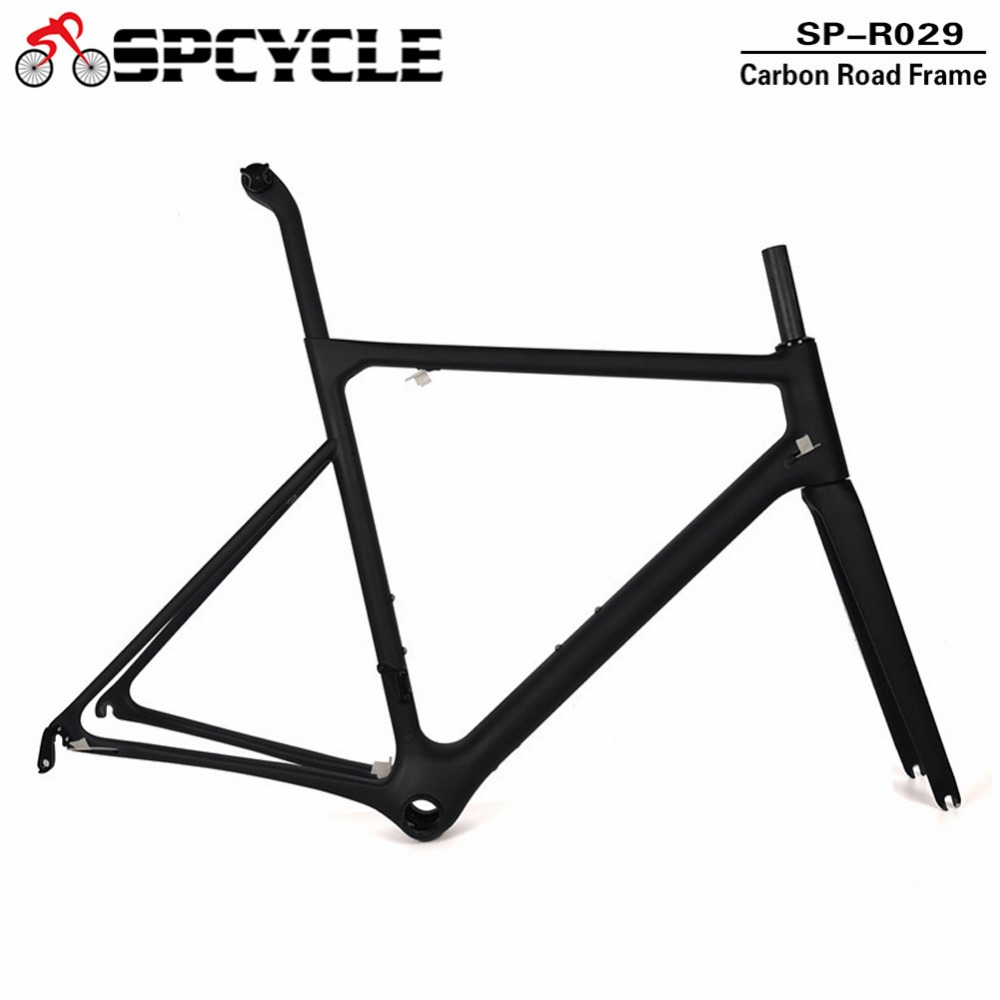 Spcycle 800g T1100 Full Carbon Road Bike Frame Monocoque Carbon Road Bicycle Frameset BB86 Compatible Di2 Or Mechanical