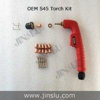 Trafimet S45 30A Consumables Kit Tip Nozzle Retaining Cap Swirl Ring Electrode Shield PR0110 PD0116 08