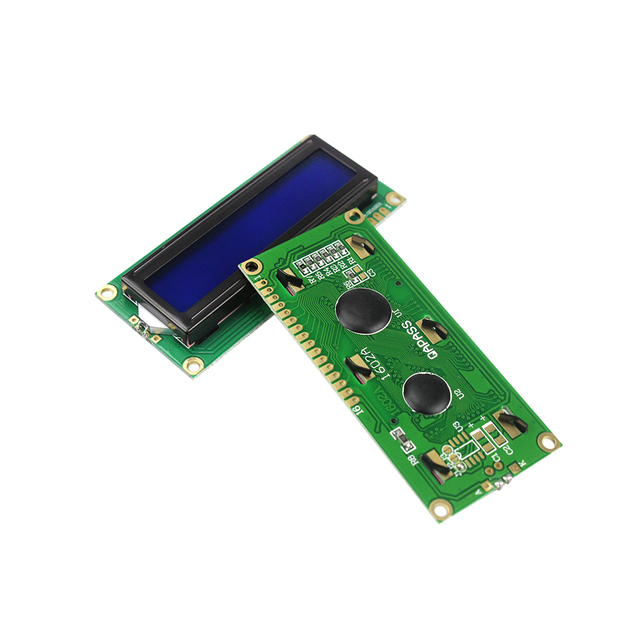 1602 16×2 LCD Display Module with Blue Backlight 5V