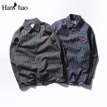 Cotton Plaid Shirts Men Long Sleeve 2017 Autumn Turn-down Collar Twill Material Dress Shirts Mens Clothes Blue Grey