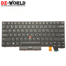 جديد/أوريج الولايات المتحدة الإنجليزية الخلفية لوحة مفاتيح لأجهزة لينوفو ثينك باد T470 T480 A475 A485 الخلفية Teclado 01AX569 01AX487 01AX528 01HX419