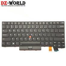 Nuovo/Orig. US English Tastiera Retroilluminata per Lenovo Thinkpad T470 T480 A475 A485 Retroilluminazione Teclado 01AX569 01AX487 01AX528 01HX419