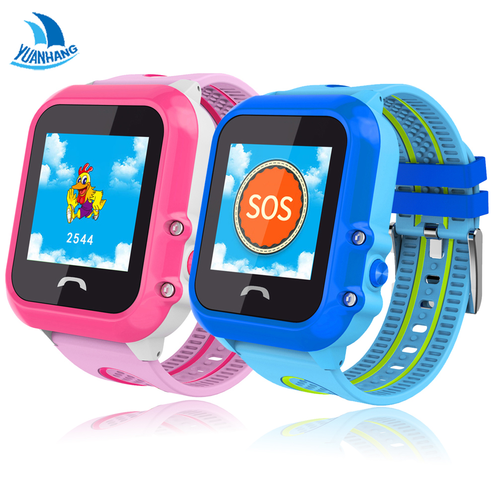 YH IP67 Waterproof Child Baby GPS LBS Swim Phone Smart SOS Call Location Device Tracker Kids Safe Remote Anti-Lost Monitor Watch smart health baby watch gps tracker for kids safe sos call anti lost reminder fall down alarm geo fence 2017 child clock se11a