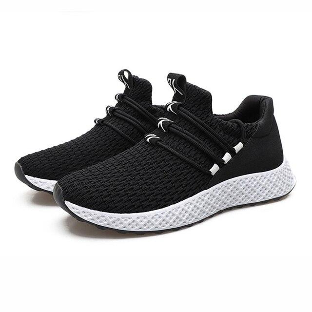 Người đàn ông 2018 thời trang Người Đàn Ông giày kích thước lớn thoáng khí thể thao giản dị shoesins thủy triều Lưu Hóa giày nam mùa hè giày flat sneakers