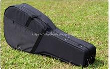 Freeshpping Light body foam Guitar Hard case for 39 inch guitar/40 41 wood guitar hard