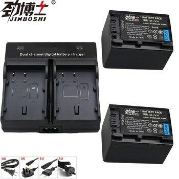 2X NP-FV70 NP FV70 NPFV70 replecement battery + LED Dual Charger For Sony DCR-PJ5 DCR-PJ5E DCR-SR15 DCR-SR15E DCR-SR20 DCR-SR20