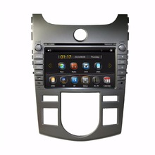 HD 2 din 8″ Car DVD Radio GPS Navigation for Kia CERATO FORTE (AT) 2008 2009 2010 2011 2012 With Bluetooth IPOD TV SWC AUX IN