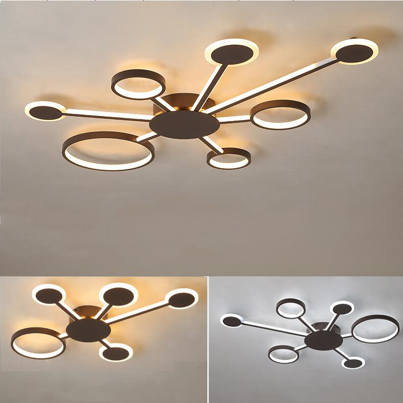 New Design Modern Led Ceiling Lights For Living Room Bedroom Study Room Home Coffee Color Finished Ceiling Lamp 4 shapesNew Design Modern Led Ceiling Lights For Living Room Bedroom Study Room Home Coffee Color Finished Ceiling Lamp 4 shapes