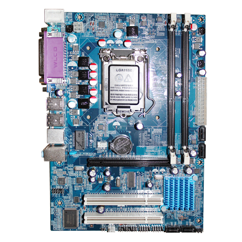 100% new motherboard H55 DDR3 LGA 1156 for i3 530 i5 650 i7 870 CPU integrated Desktop motherboard Free shipping brushed nickel deck mount waterfall basin mixer dual handle 3 holes bathroom faucet