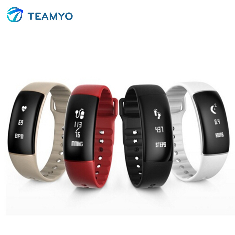 Teamyo A69 Camera Smart Band Fitness Tracker Watches Blood Pressure Fitness Wristband Tracker NEW heart rate monitor bracelet