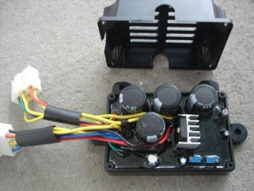 цена на 5KW~7.5KW welding dual brush generator AVR,welding machine voltage regulator