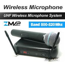 Envío Libre PX24 B 58 Karaoke Sistema de Micrófono Inalámbrico Profesional UHF Con Supercardioide Microfono transmisor De Mano