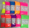 50g mixed 5colors Pastel Magenta Neon Fluorescent Pigment for Cosmetics, Nail Polish, Soap Making, Candle Making, Polymer Clay