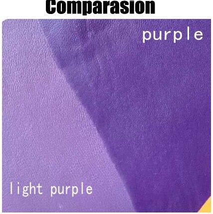 Светло-фиолетовый Натуральная овечья кожа Материал для Обувь/портмоне/сумка/бумажник, бесплатная доставка