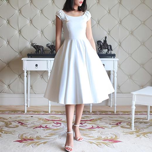 40 Summer Women Robe Vintage 50s Audrey Hepburn Puff