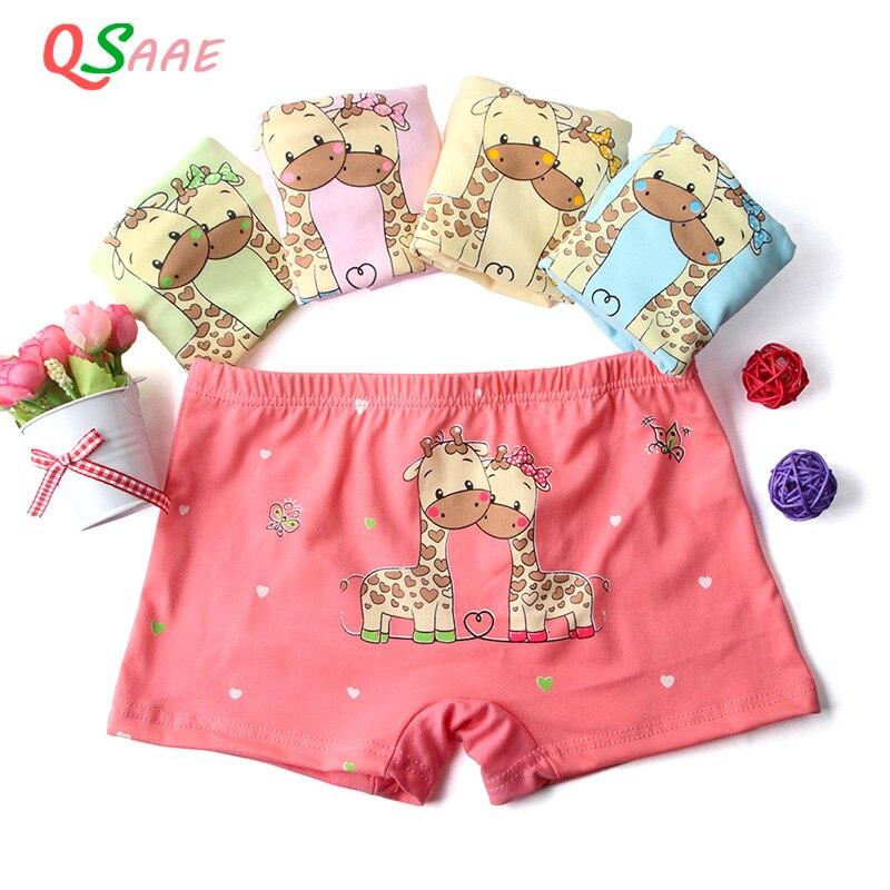 5pcs/lot  Boxer Girls Underwear princess Children Kids Baby Panties Wholesale