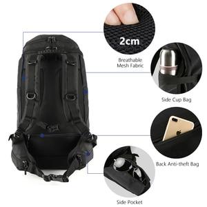 Image 4 - OZUKO marka mężczyźni podróży o dużej pojemności 15.6 cal laptopa plecak mężczyzna wielofunkcyjne górskie plecaki torby sportowe na zewnątrz