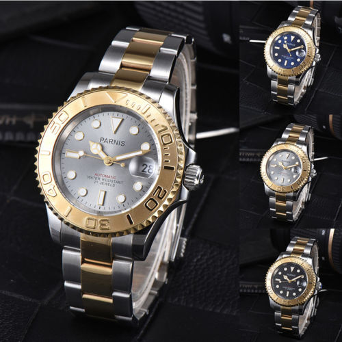 41mm parnis Black Blue Grey Dial Sapphire Glass SS Band Date Luminous Marks 21 jewels miyota 8215 Automatic Movement mens Watch41mm parnis Black Blue Grey Dial Sapphire Glass SS Band Date Luminous Marks 21 jewels miyota 8215 Automatic Movement mens Watch