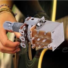 Volume-Parts Potentiometer Push-Pull-Switch Splined B500K Electric-Guitar-Tone Shaft18mm