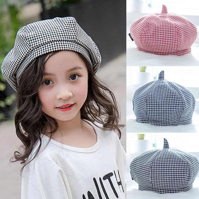 74474197446fb Doitbest 1-4 years old Fashion Kids beret Baby Girl Boy Beret girls winter  hat .