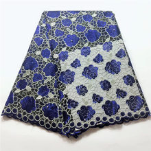 Latest swiss voile lace High quality African fabric embroidery nigerian fabrics  TL1059