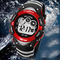 Fashion Brand Alike Waterproof Boys Girls Watch Sport Digital Watch Multi-Function Jogging Silicon Band LED Cartoon Kids Watches
