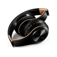 Free Shipping Bluetooth Headphones Wireless Stereo Headsets Earbuds With Mic Support TF Card For IPhone Samsung
