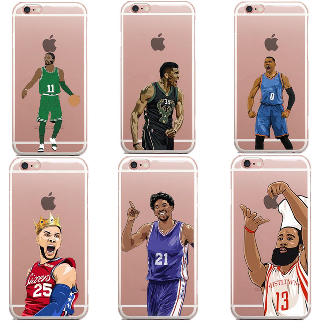 buy online 7a52f 56c38 US $2.59 |Kyrie Irving Simons stephen curry KD kyrie for iphone 5 5s 6 6s 7  8 plus James 23 james harden hard PC For iPhone X XR XS MAX-in ...