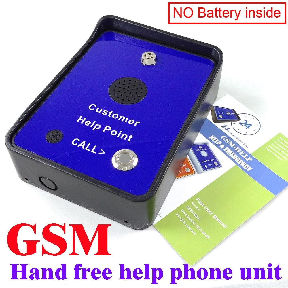 Di servizi GSM del telefono sistema di citofono audio di allarme aiuto di emergenza chiamata di servizio di telefonia citofonoDi servizi GSM del telefono sistema di citofono audio di allarme aiuto di emergenza chiamata di servizio di telefonia citofono
