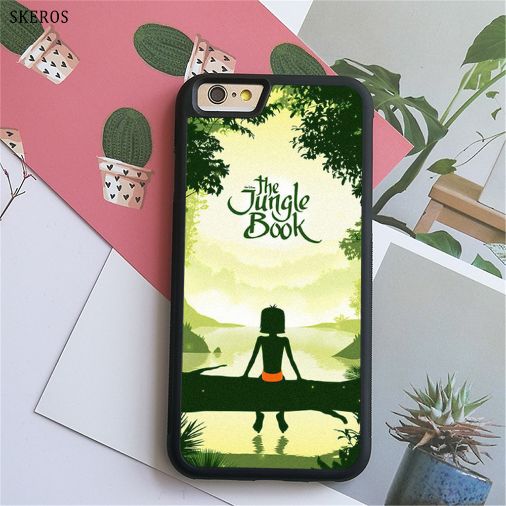 SKEROS The Jungle Book 6 (2) phone case for iphone X 4 4s 5 5s 6 6s 7 8 6 plus 6s plus 7 & 8 plus #B750