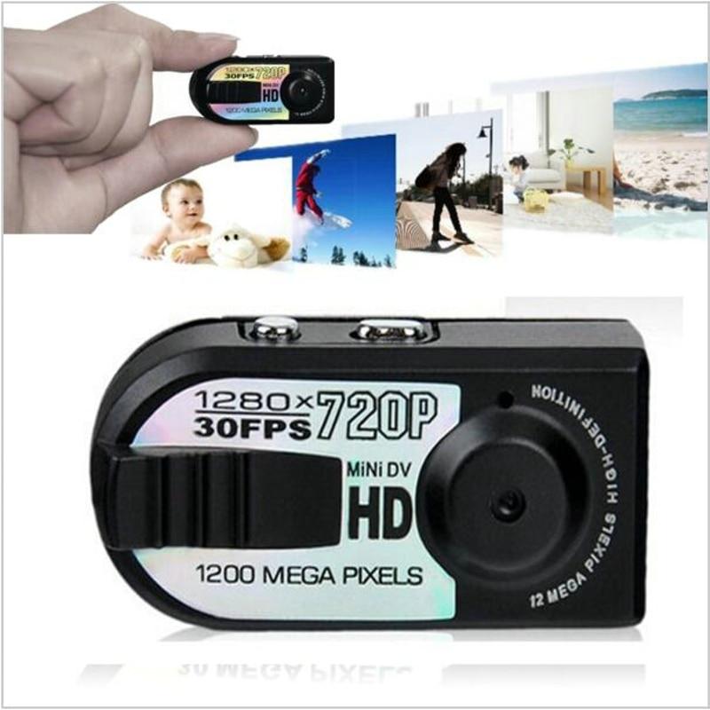 2018 Új legkisebb Full HD 720P Mini DV DVR kamera Mini videokamera - Autóelektronika