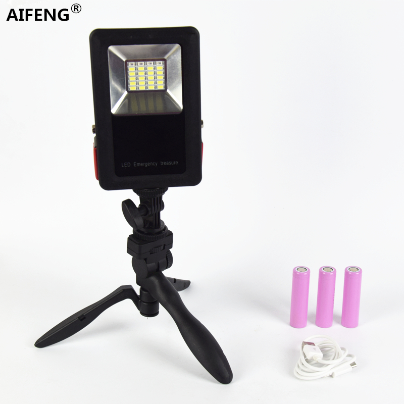 AIFENG camping light rechargeable led lamp portable lantern 18650 LED Portable Floodlight Lantern for Camping Hiking Tent Light nicron super bright led camping light emergency light household lantern camping lantern tent lamp rechargeable battery l10r