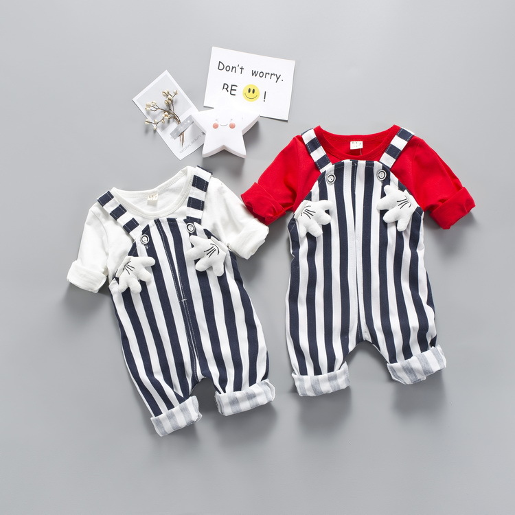 1-4T Cute Minnie Mickey Infant and Child Children Clothing Set for Girls Boys Clothes Set Kids Pink Red Long Sleeve Cute Suit boys girls clothing sets children cotton sport suit kids mickey minnie cartoon t shirt and pants set baby kids fashion clothes