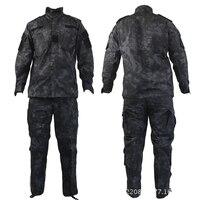 Kryptek mandrake noir typhon couleur ACU Uniforme nomade camouflage militaire tactique ACU, Airsoft combat uniforme chemises + pantalon