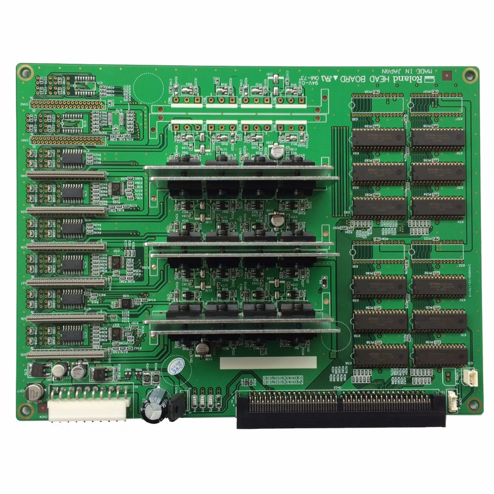 Roland SJ-540 / SJ-740 / FJ-540 / FJ-740 6 dx4 Heads Board good quality wide format printer roland sp 540 640 vp 300 540 rs640 540 ra640 raster sensor for roland vp encoder sensor