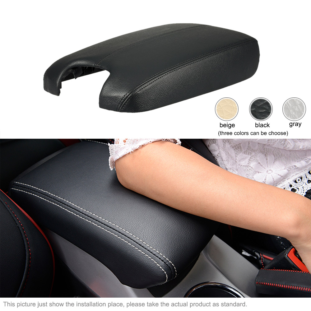 Leather Car Armrest Cover Center Console Armrest Lid For Honda Accord Interior Car Styling Accessories